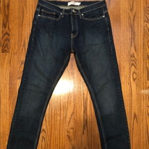 Topman Men's Stretch Slim Jeans 34L